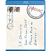 Zodiac Gyllenhaal Edwards Downey on Blu Ray