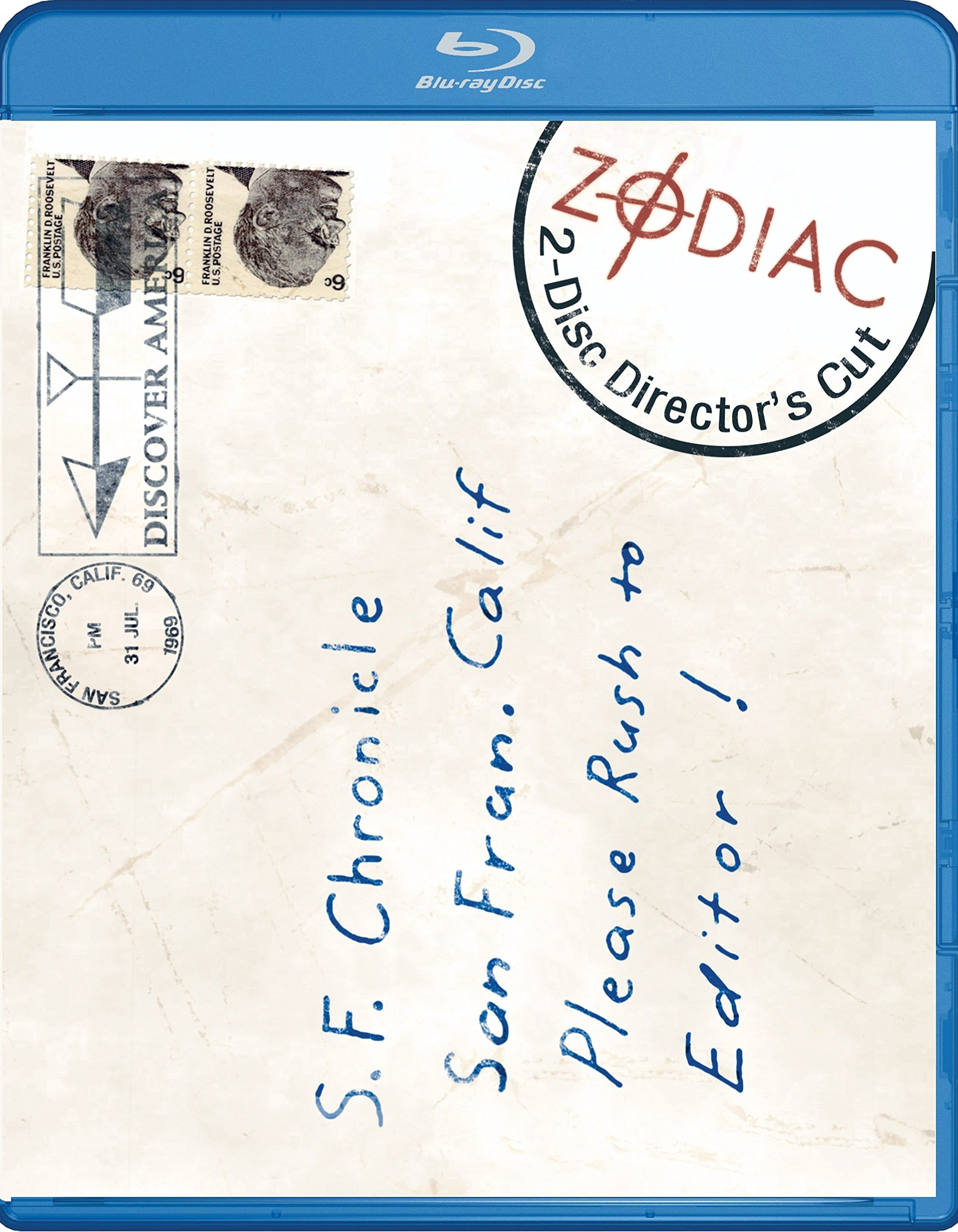 Blu-ray : Zodiac (Director\'s Cut / Edition, Widescreen, 2 Pack, AC-3, )