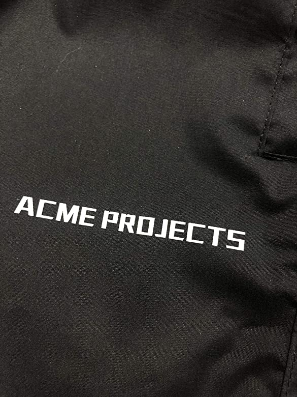 Breathable Acme Projects Rain Pants 100/% Waterproof 10000mm//3000gm Taped Seam