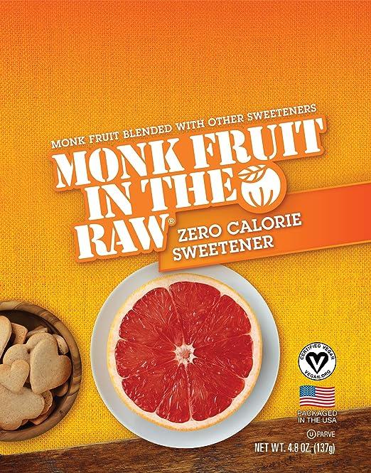 Monk Fruit In The Raw Sweetener 48 Ounces