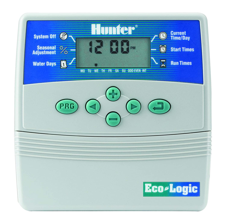 Hunter ELC-601i–Bewässerungs-Timer, 6Stationen, für Innenbereiche 6Stationen für Innenbereiche