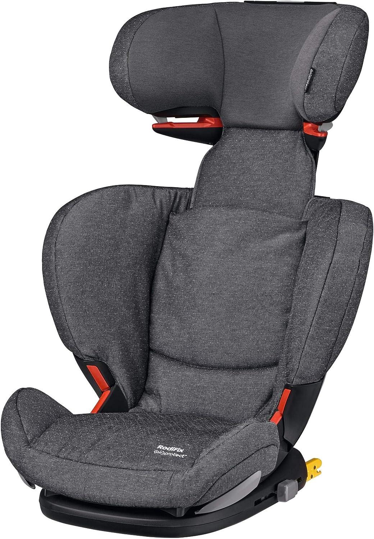 Bébé Confort RODIFIX AirProtect, Silla de auto para niño con ISOFIX, R44/04, reclinable, segura y ligera, desde los 3.5 hasta los 12 años, 15-36 kg, gr. 2/3, Sparkling Grey (gris)