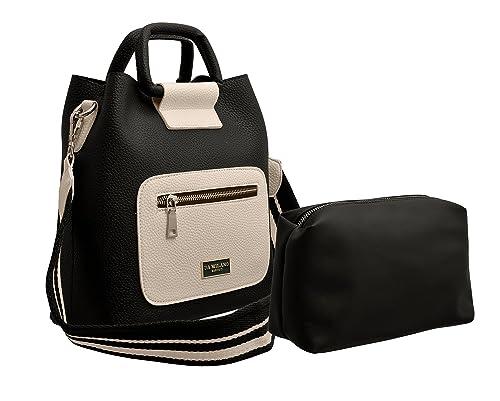 4679260b291 TAP FASHION Stylish PU Leather Women s 2Pcs (2in1 Combo bag) Combo Of  Handbag Satchel