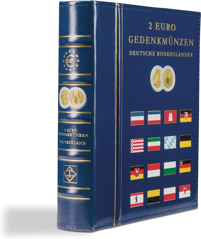 tomo 2 pa/íses Leuchtturm 302742 /Álbum para monedas VISTA de euro