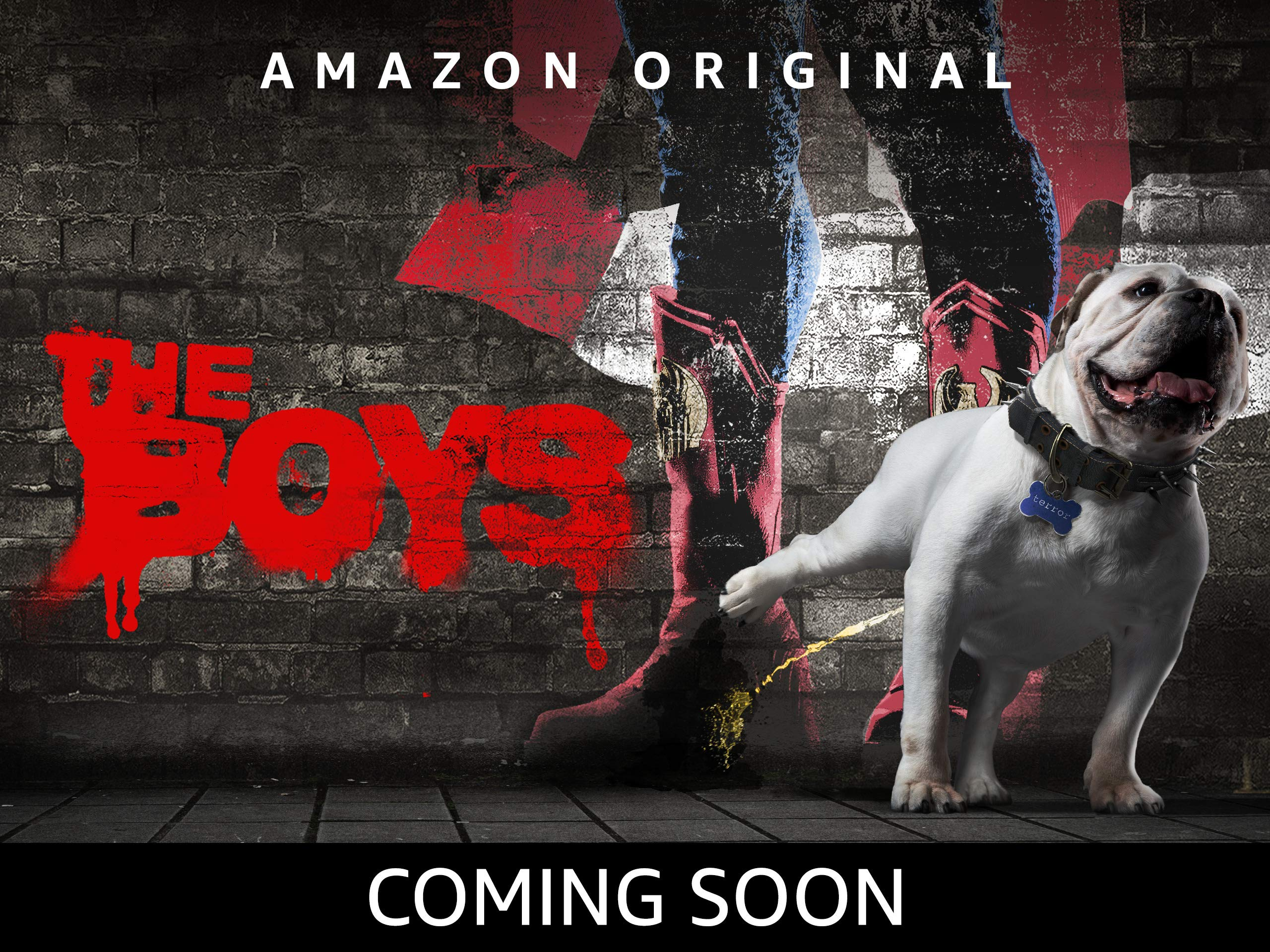 The Boys is coming soon to Prime