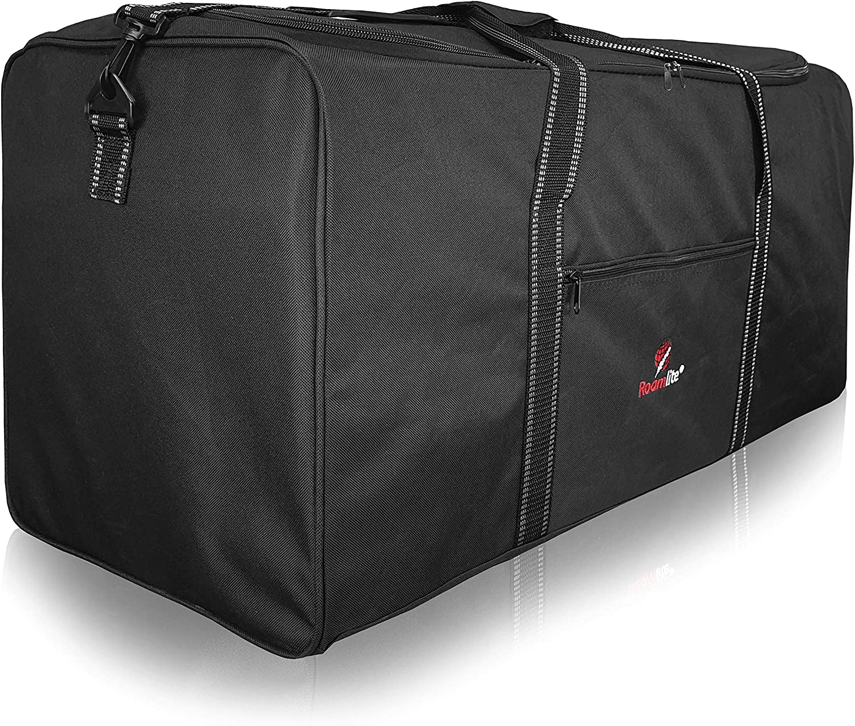 Roamlite R30K - Bolsa de deporte (poliéster, 76 cm, 100 L), color negro