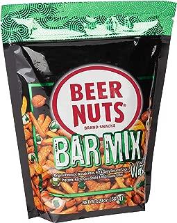 product image for BEER NUTS Bar Mix with Wasabi - Grab Bag - 20 oz Resealable Bag, Original Peanuts, Wasabi Peas, Hot & Spicy Sesame Sticks, Pretzel Niblets