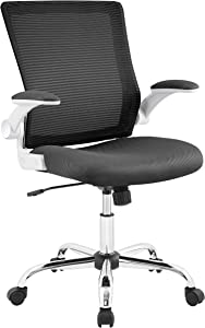 Serta Creativity Ergonomic Mesh Office Computer Desk Chair, Adjustable Armrest with Mid-Back Lumbar Support, Black
