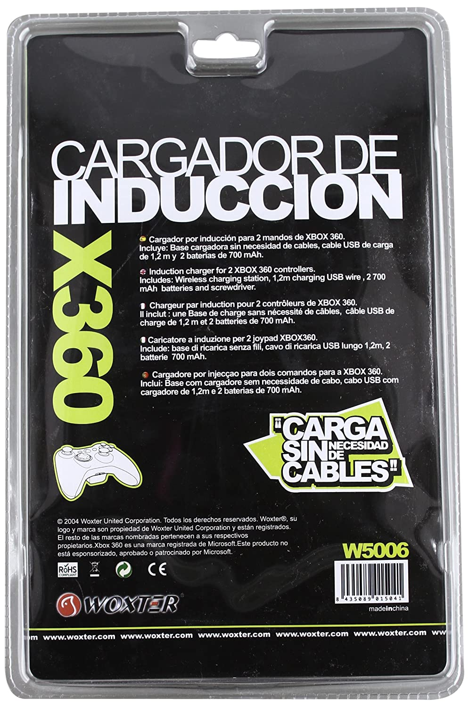 Blade - Cargador Inducción + 2 Baterías Woxter (Xbox 360 ...
