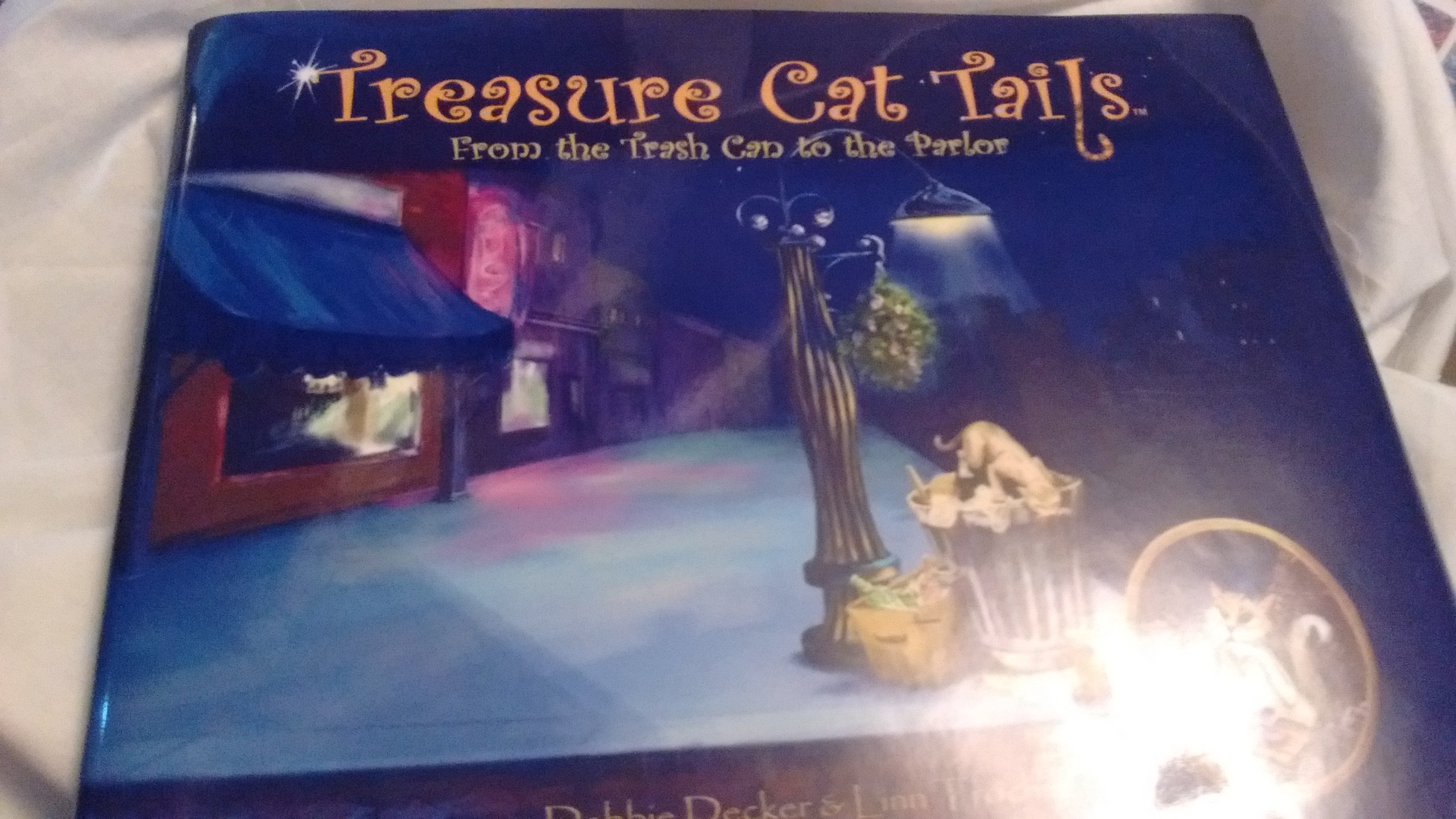 Treasure Cat Tails: From the Trash Can to the Parlor