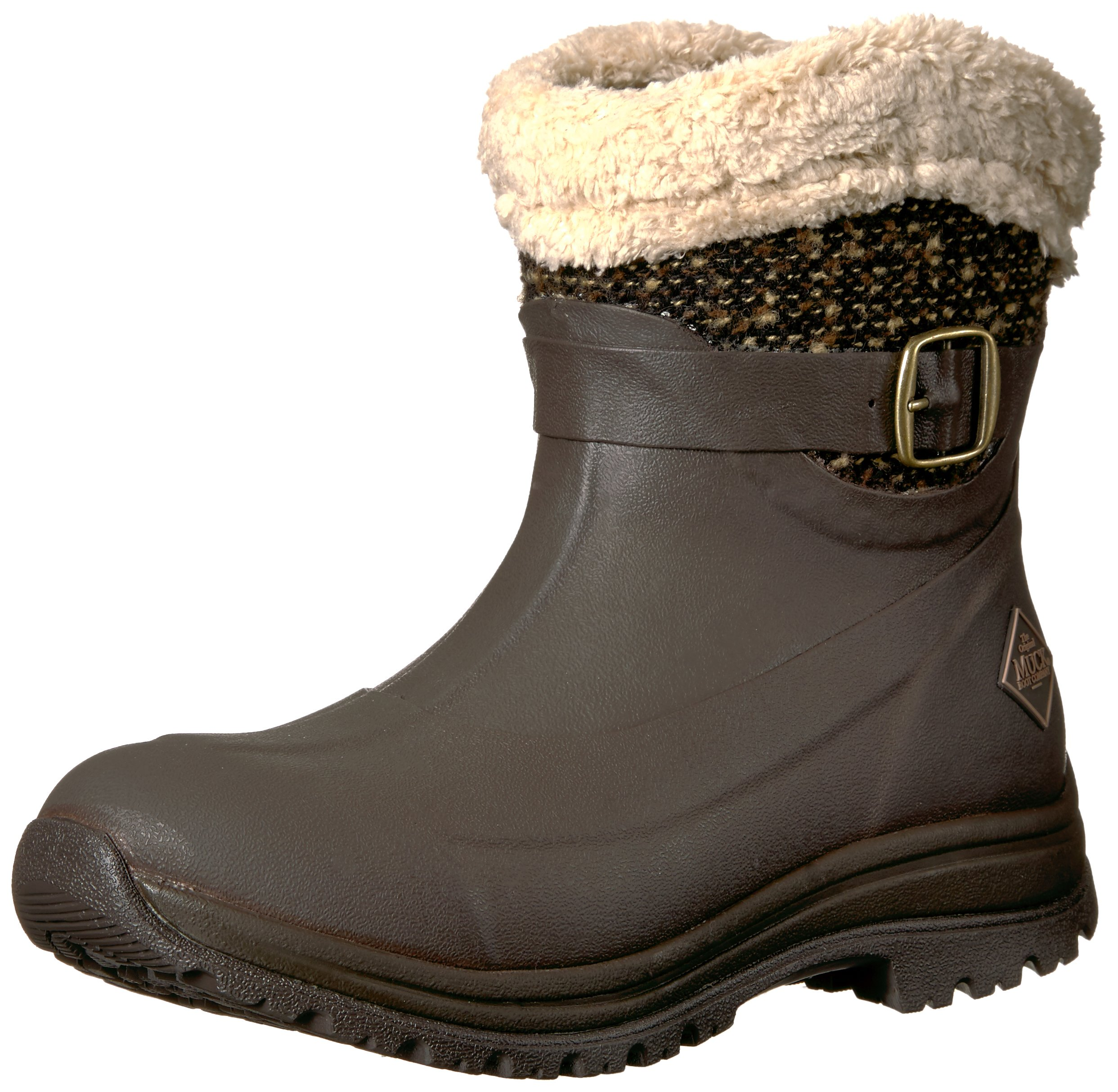 Muck Boot Women's Apres (Ankle) Supreme Work Boot, Brown, 9 M US by Muck Boot