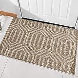 """Indoor Doormat, Front Back Door Mat Rubber Backing Non Slip Door Mats 20""""x31.5"""" Absorbent Resist Dirt Entrance Doormat Inside"""