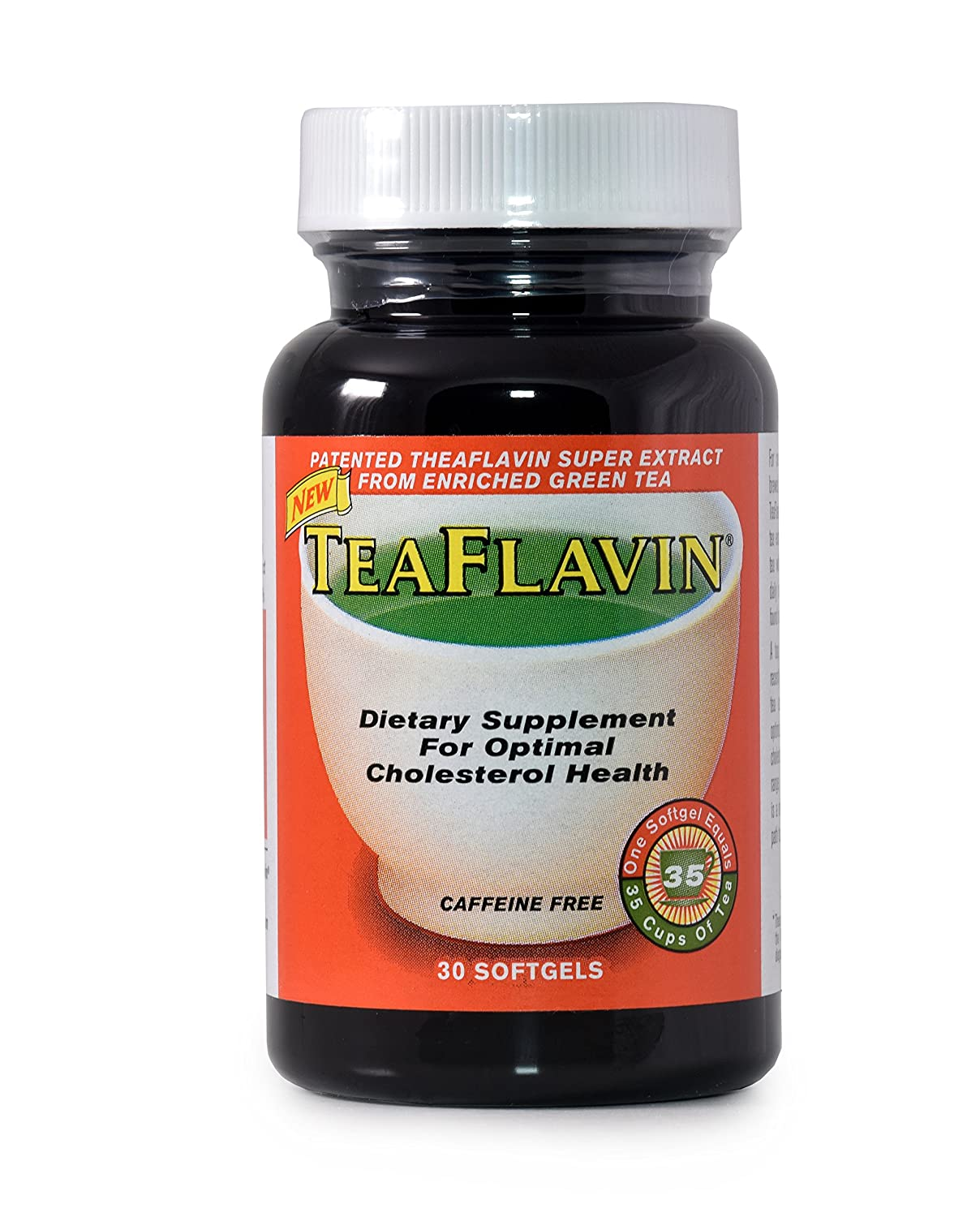 Green Tea Extract immune system support supplements, weight loss, Reduces Cholesterol, Natural Energy Caffeine Free with Theaflavins – 1 Capsule 35 Cups of Green Tea 30 Capsules 1 month supply
