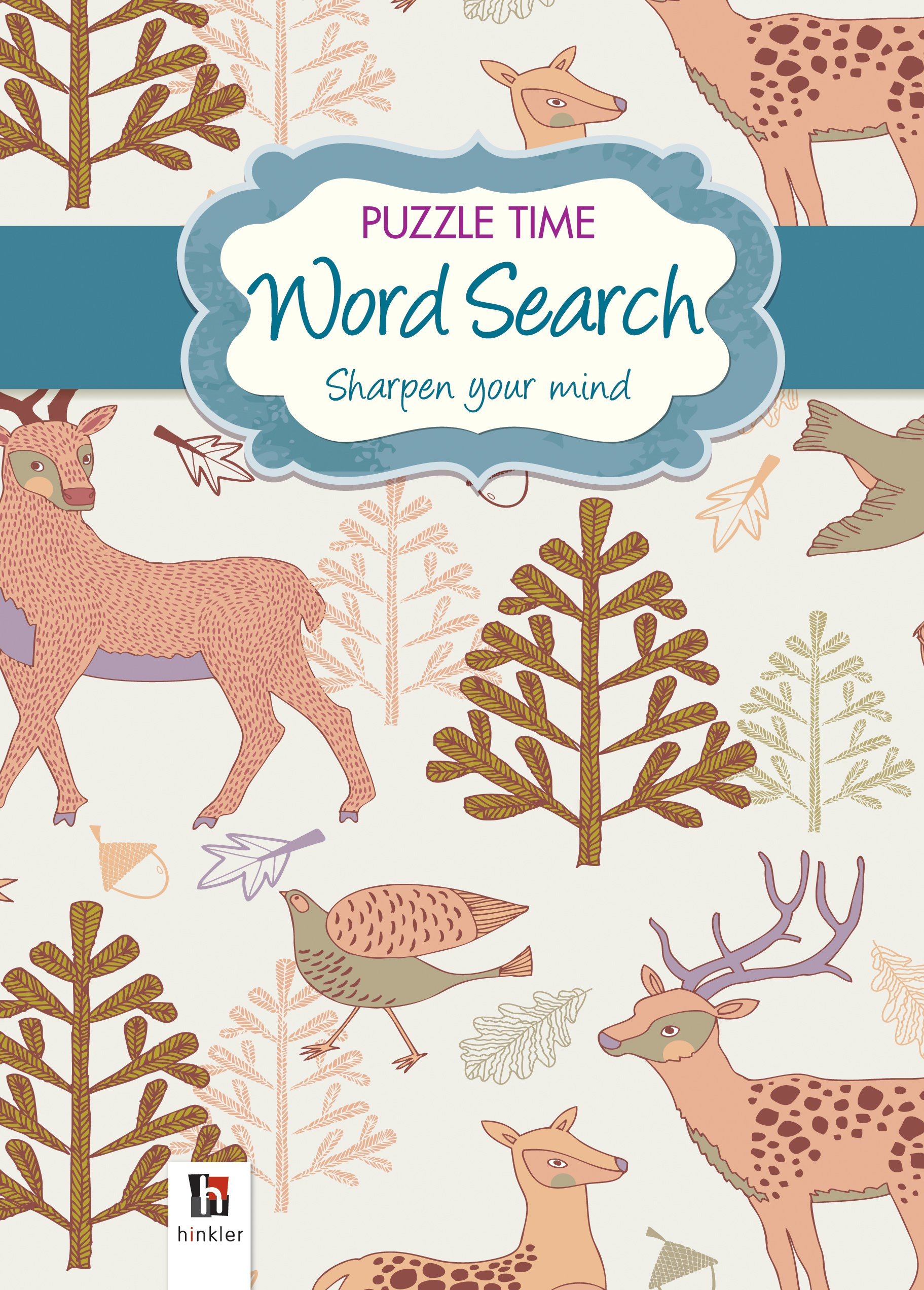 Puzzle Time Word Search (Blue) PDF