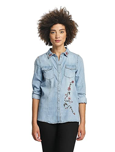 Vero Moda Mujeres Ropa superior / Camisa vmViola Embroidery