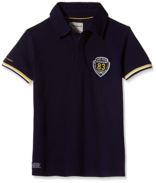 6714f67e9ce Pepe Jeans Boys  Polo T-Shirt  Amazon.in  Clothing   Accessories