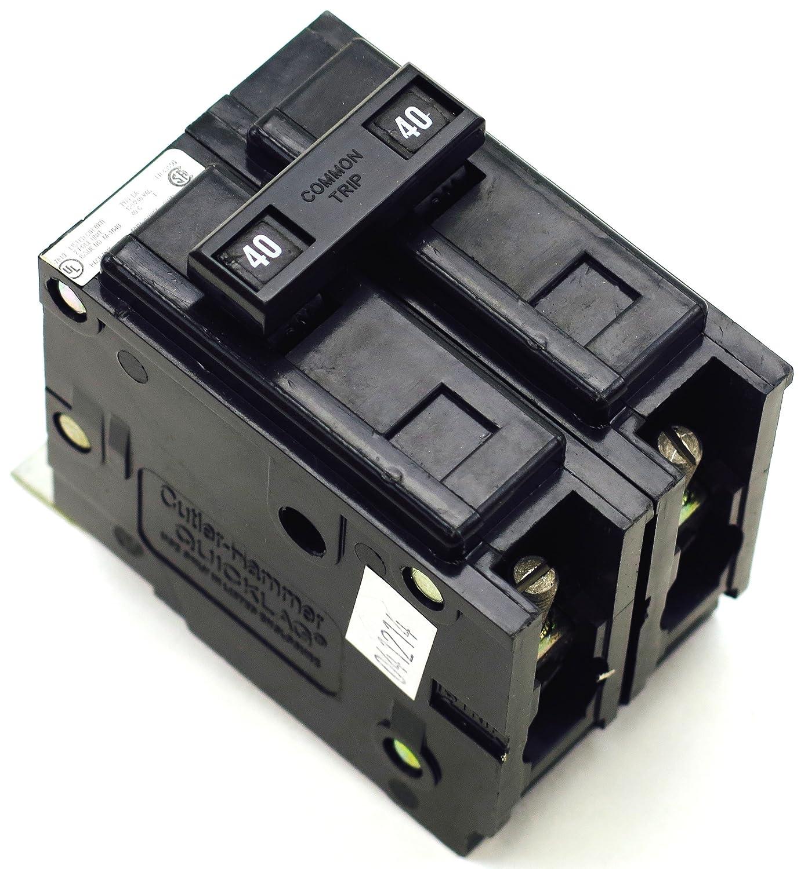 Box Of 5 Cutler Hammer 40 Amp Circuit Breaker CH240
