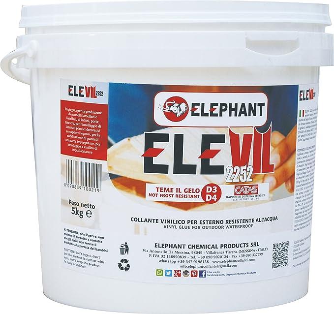 11 opinioni per 5 KG | Colla vinilica per Legno D3 ELEVIL2252- Super Collante professionale