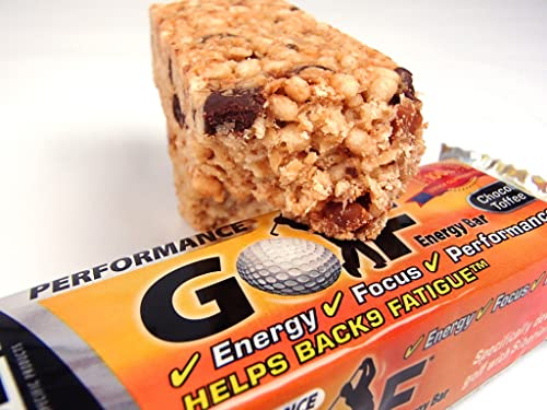 SSP Golf Performance Energy Bar Chocolate And Toffee (Box Of 24)