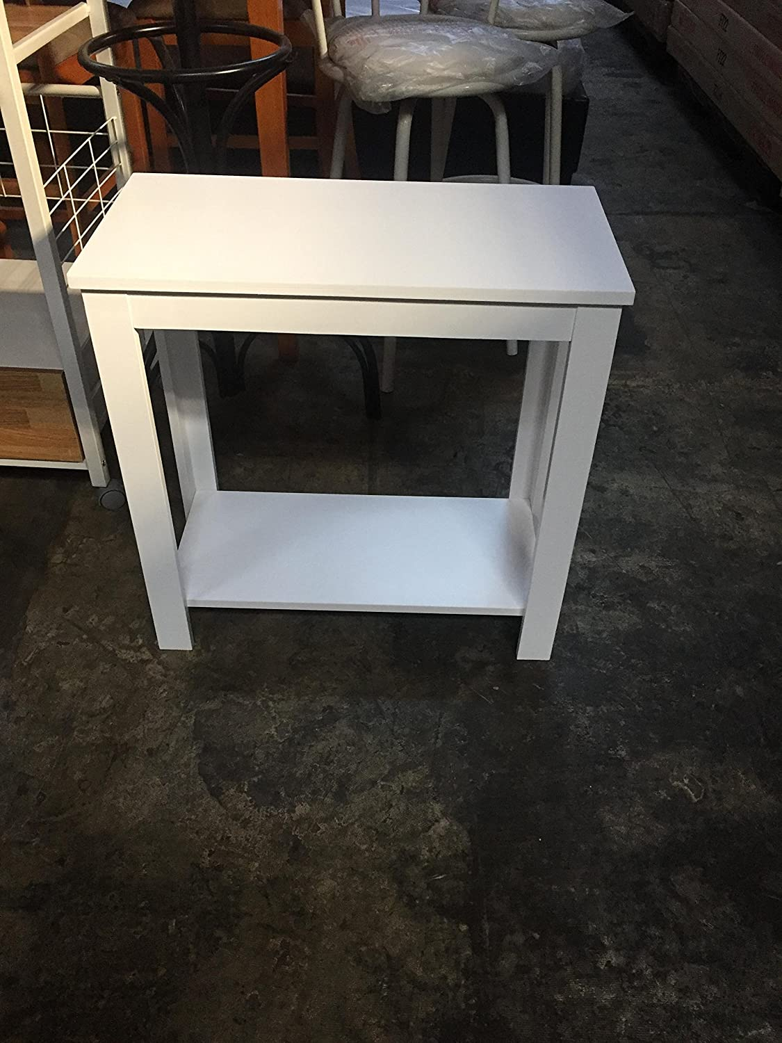 Side Table Black / White / Espresso / Walnut (Black) SQUARE FURNITURE