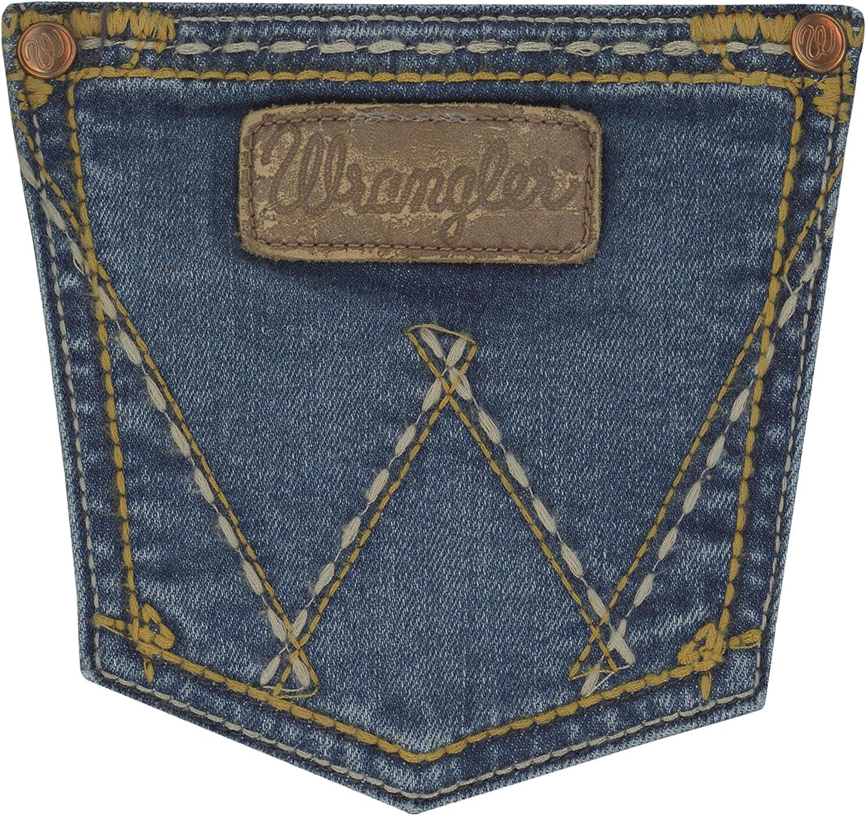 Wrangler Womens Retro Mid Rise Boot Cut Jean Jeans