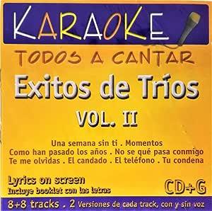 Karaoke: Exitos De Trios 2: Amazon.com.br: CD e Vinil