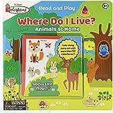 Colorforms Where Do I Live?: Animals and Their Homes (Colorforms Activity Books)