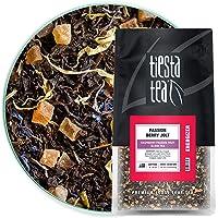 Tiesta Tea - Passion Berry Jolt, Loose Leaf Raspberry Passion Fruit Black Tea, High Caffeine, Hot & Iced Tea, 1 lb Bulk…