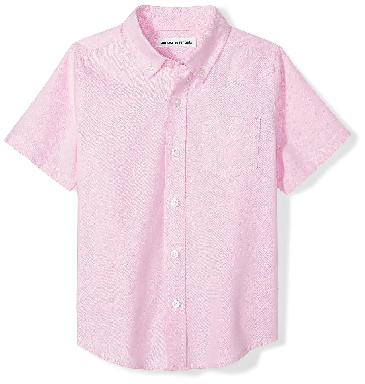 Amazon Essentials Boys Boys' Short-Sleeve Uniform Oxford BAE25000FL18
