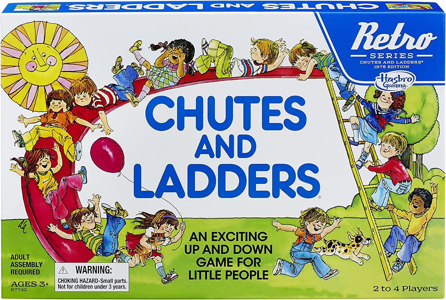 Chutes und Ladders Game: Retro Series 1978 Edition
