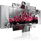 Bilder 200x100 cm - XXL Format - Fertig Aufgespannt – TOP - Vlies Leinwand - 5 Teilig - Wand Bild - Kunstdruck - Wandbild - Sydney 020120-1 200x100 cm B&D XXL murando