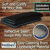 Premium Pet Bed Mat: Soft Self Warming Dog Bed