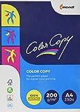 Antalis Color Copy Ramette de 250 feuilles pour imprimante laser couleur/NB 200g A4