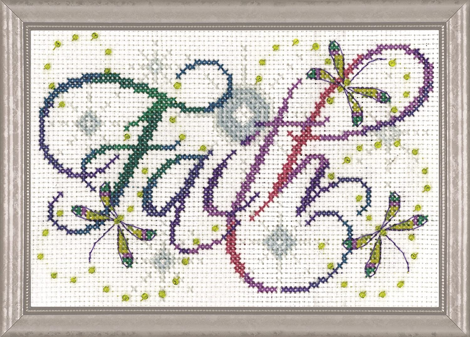"Design Works A GOOD THING Counted Cross Stitch Kit 5/"" x 7/"""
