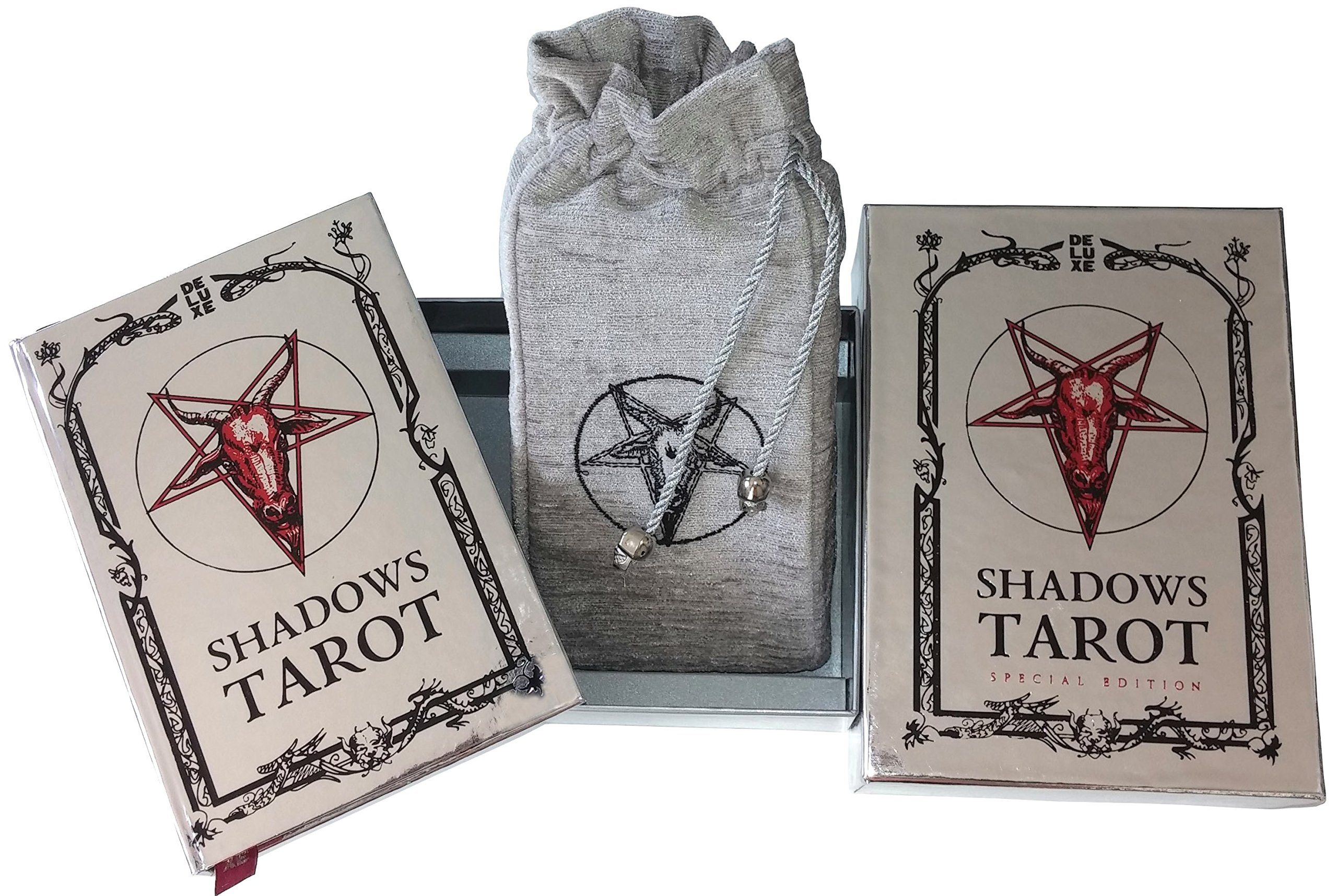Tarot of Shadows, Special Edition. Set of 78 Unique Tarot Cards. A Tarot Deck Purposed to Unravel the Shadows of the Soul.