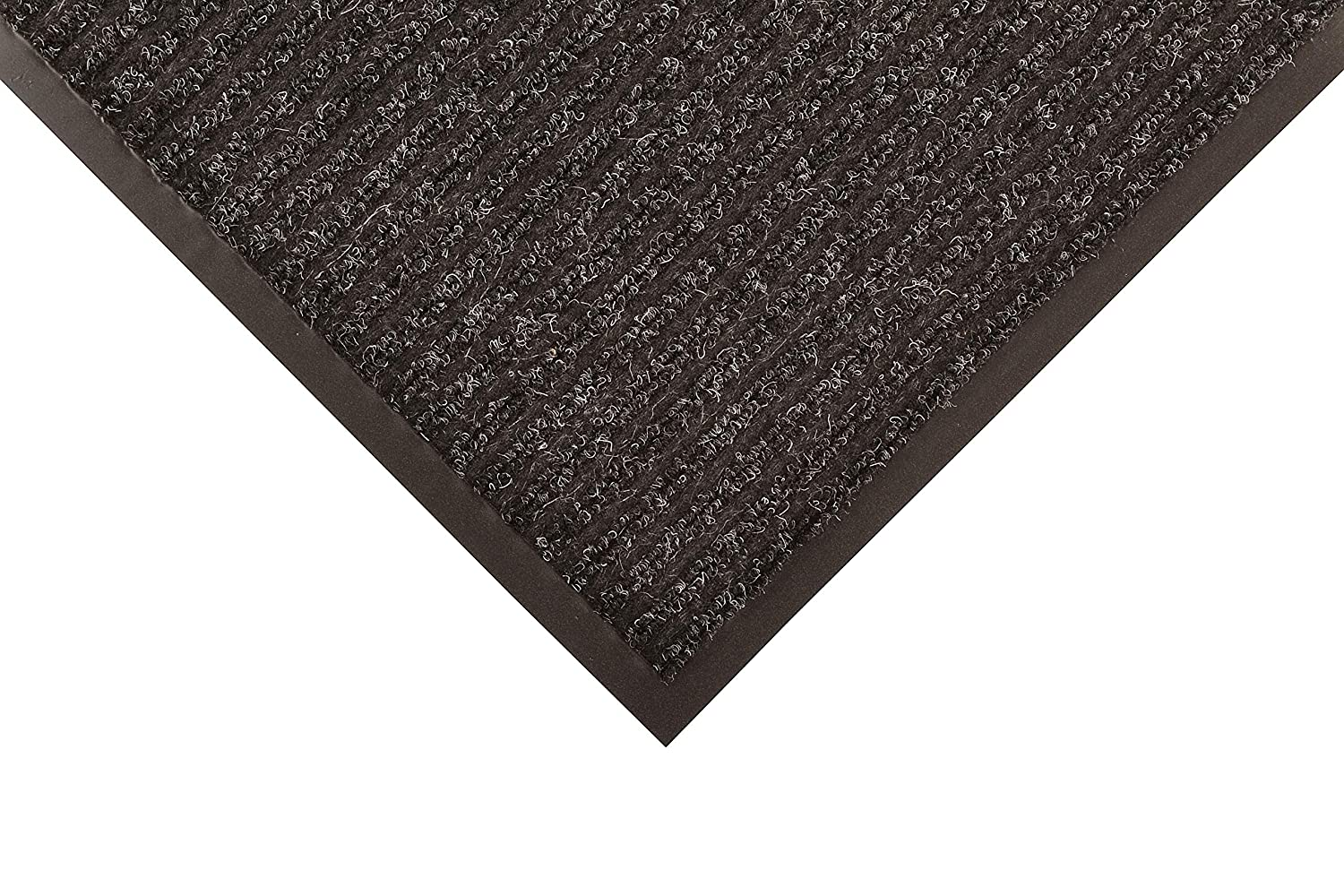Notrax 117 Heritage Rib Entrance Mat, for Home or Office, 3'10' Charcoal