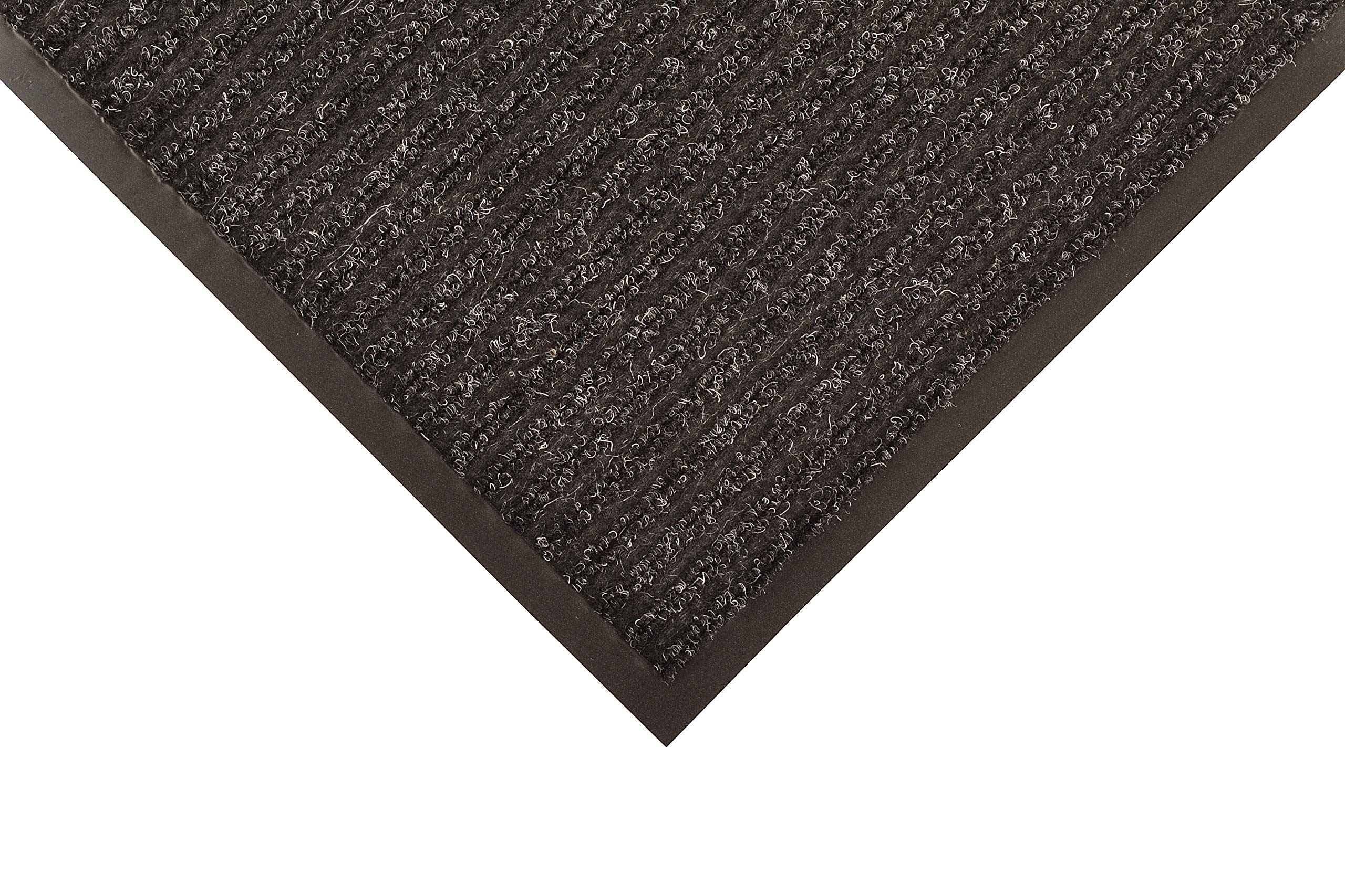 Notrax 117 Heritage Rib Entrance Mat, for Home or Office, 4' X 6' Charcoal by NoTrax Floor Matting