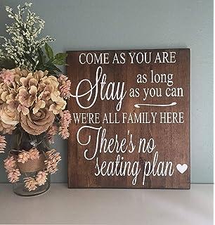 Amazon.com: CELYCASY - Cartel de boda reservado, cartel de ...