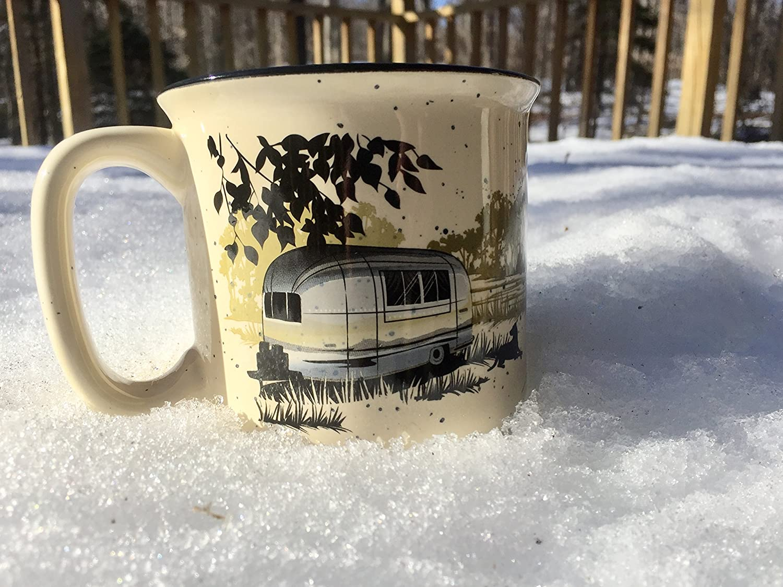 ,1 Per Pack Wanderlust White Camp Casual CC-004W Mug