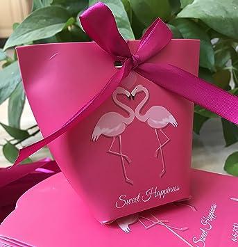 Amazon.com: 100 piezas bolsas de dulces, favores de la boda ...