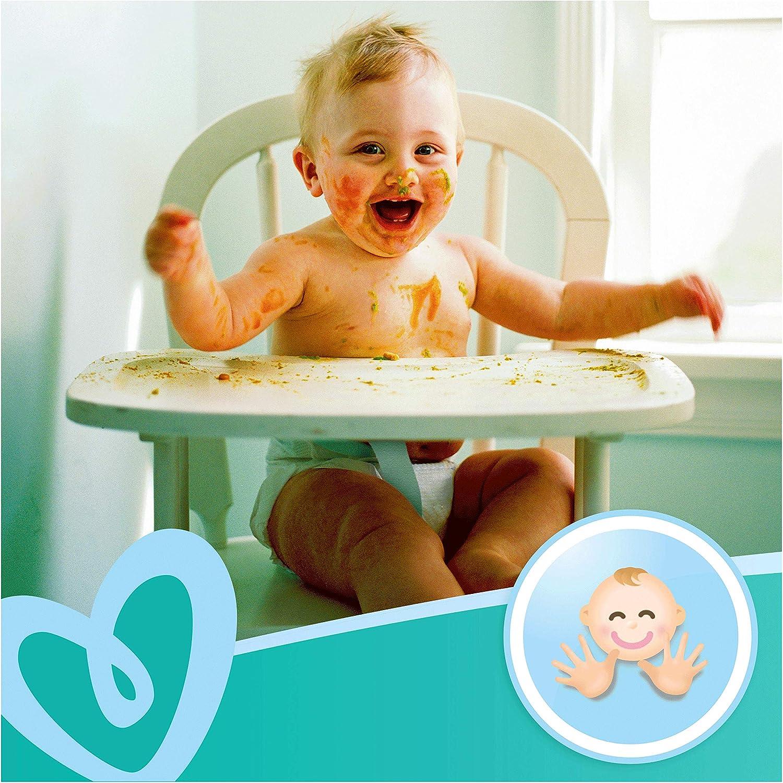 Pampers Fresh Clean 81688030 toallita h/úmeda para beb/é 52 pieza s Wet baby wipe, Bolsa de pl/ástico, Girl//Boy, Turquesa, Blanco, Alemania, 298,92 g - Toallitas h/úmedas para beb/é
