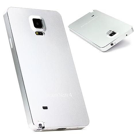 Urcover® Funda Galaxy Note 4 Carcasa Protectora Aluminio ...