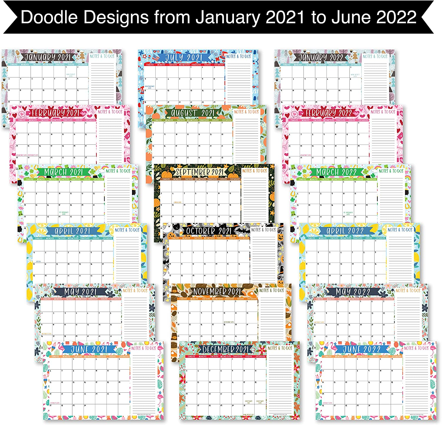 Notre Dame Academic Calendar 2022.Office Supplies Large Monthly Wall Planner With Seasons Family Business Office 11x17 18 Month Academic Desktop Calendar Fridge Planning Blotter Pad 2021 2022 Doodle Desk Calendar Seasonal Notes Section Teacher Office Products