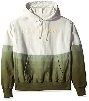 d7ce4db5c6a477 Amazon.com  Champion LIFE Men s Ombre Dip Dye Reverse Weave Hood  Clothing