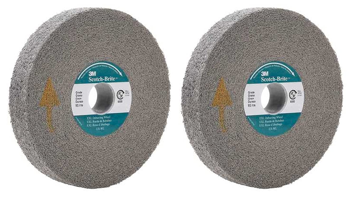 Wondrous 3M Abrasive 048011 05132 6 Scotch Brite Exl Deburring Wheels Gray Set Of 2 Gmtry Best Dining Table And Chair Ideas Images Gmtryco