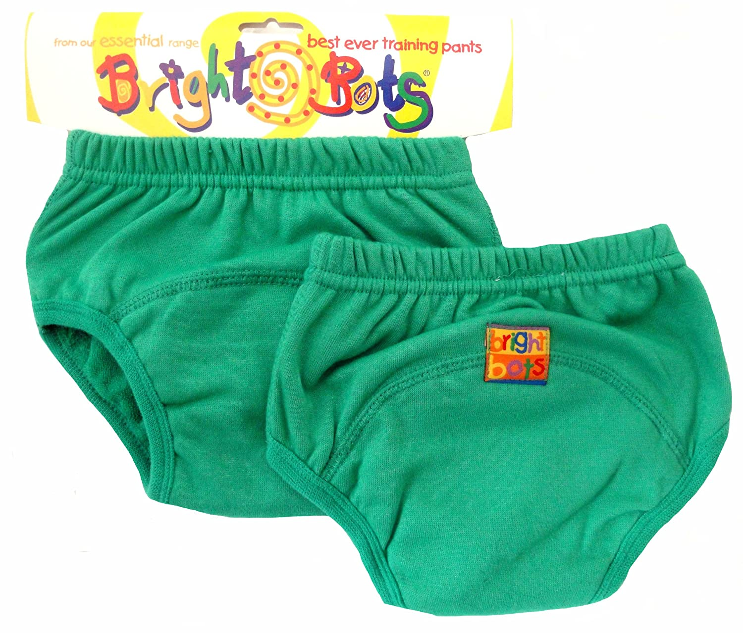 Bright Bots Potty Training Pants (Twin Pack, Green, Small, 12 - 18 months) 2AAETRA1-2GS