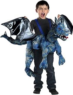 Ride-In Dragon Costume  sc 1 st  Amazon.com & Amazon.com: California Costumes Dragon Rider Costume Multi Toddler ...
