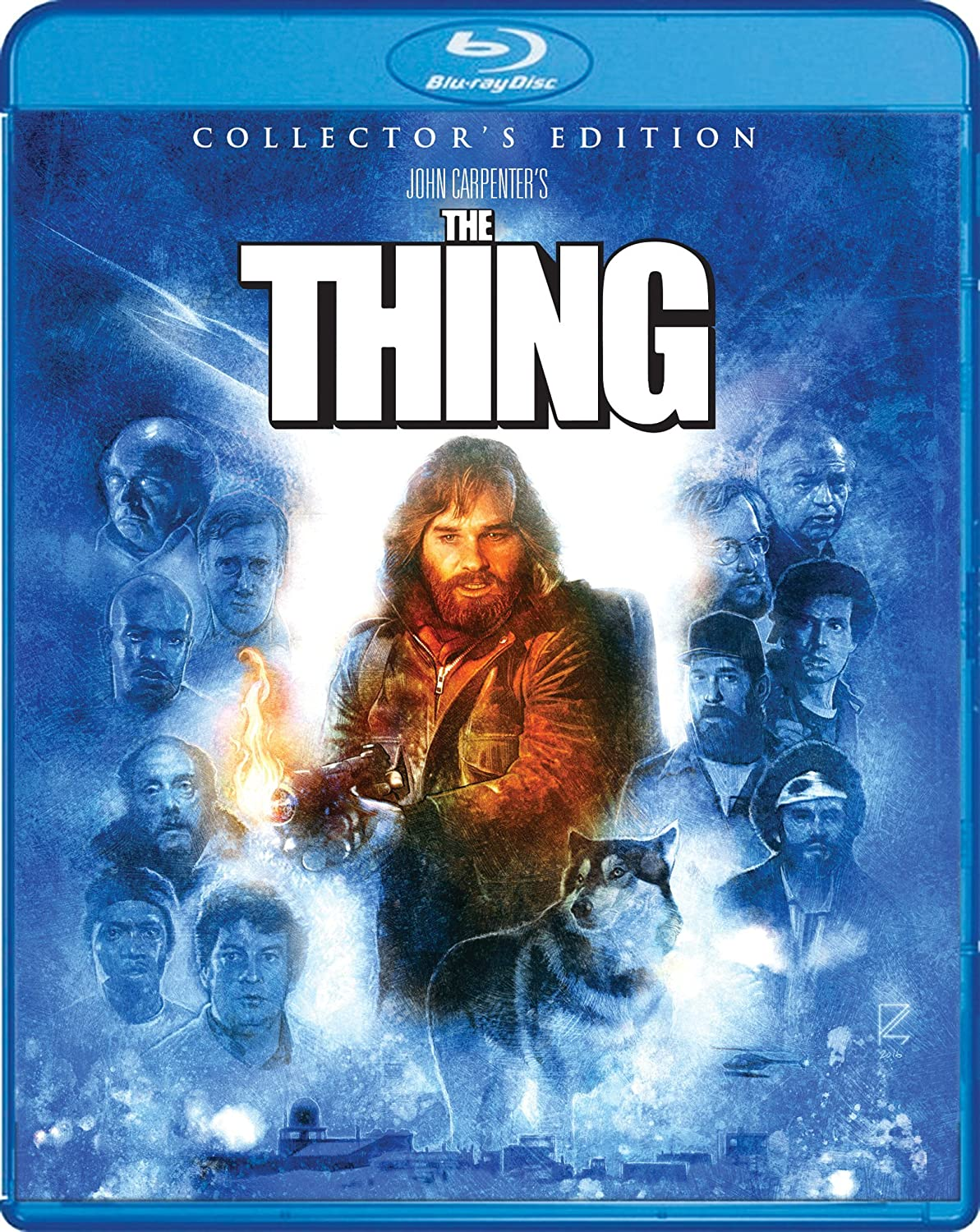 The Thing Collector's Edition [Blu Ray] Amazon.fr Kurt Russell ...