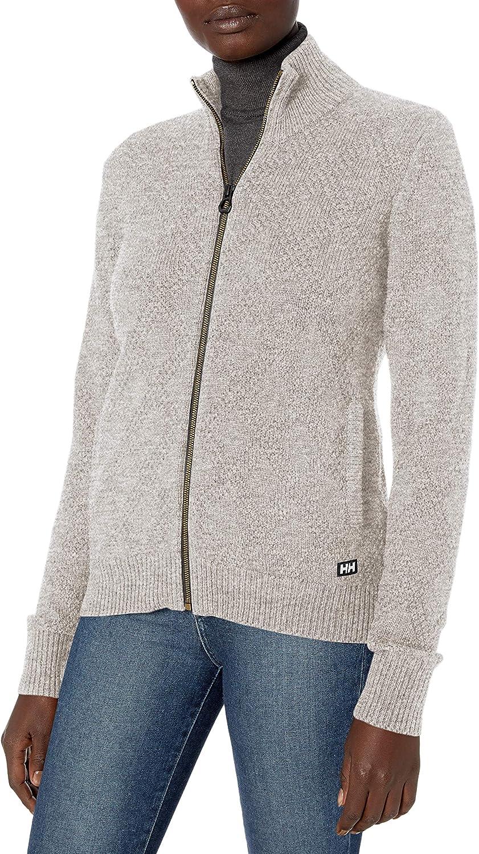 Helly-Hansen womens Siren Classic Wool-blend Full Zip Knit Jacket