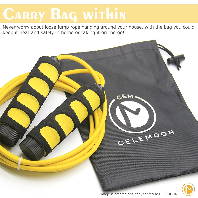 Miraculous Yellow Ultra Safe Lightweight Kids Jump Rope Bonus Portable Cjindustries Chair Design For Home Cjindustriesco